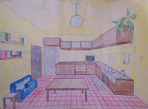 Scuola for Disegni di case in prospettiva